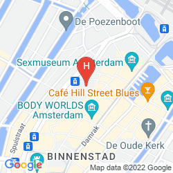 Karte INNTEL HOTELS AMSTERDAM CENTRE