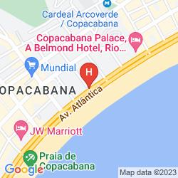 Karte TROCADERO OTHON TRAVEL