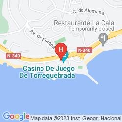 Karte CASINO TORREQUEBRADA