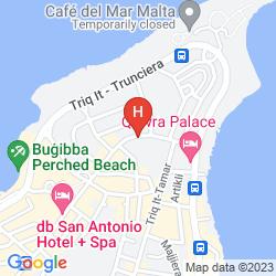Karte DB SAN ANTONIO HOTEL & SPA