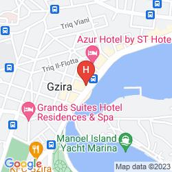 Karte BAYVIEW HOTEL & APARTMENTS