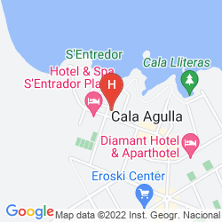 Karte MAR AZUL PUR ESTIL HOTEL & SPA