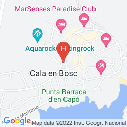 Karte APARTHOTEL MARINDA GARDEN
