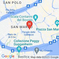 Karte LA FENICE ET DES ARTISTES