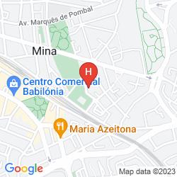 Karte RESIDENCIAL JARDIM DA AMADORA