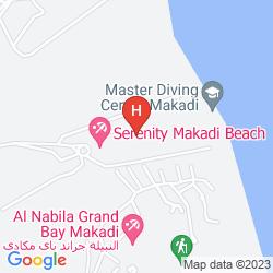 Karte SERENITY MAKADI HEIGHTS