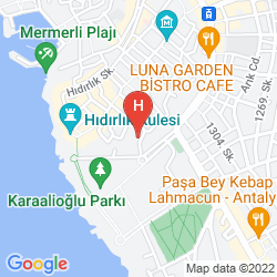 Karte KARYATIT HOTEL SPECIAL