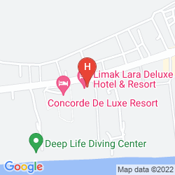 Karte LIMAK LARA DE LUXE RESORT