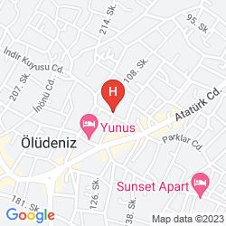 Karte NICHOLAS HEIGHTS DELUXE SUITE HOTEL