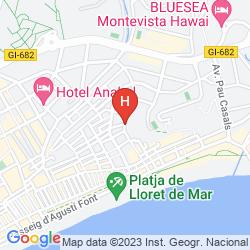 Karte SANTA ROSA