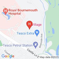 Karte VILLAGE BOURNEMOUTH
