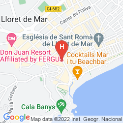Karte GRAN HOTEL FLAMINGO