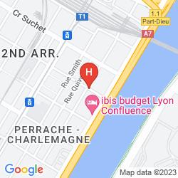 Karte AXOTEL PERRACHE