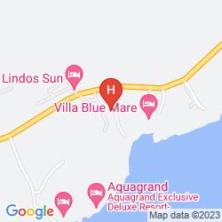 Karte LINDOS SUN
