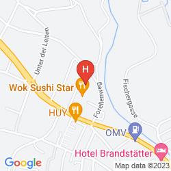 Karte AUSTRIA TREND HOTEL SALZBURG MITTE