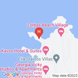 Karte KAVOS BEACH
