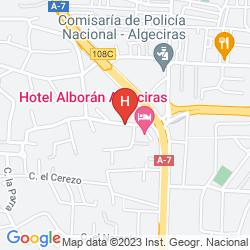 Karte ALBORAN