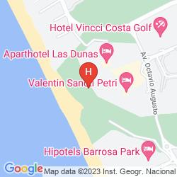 Karte SOL SANCTI PETRI APARTAMENTOS