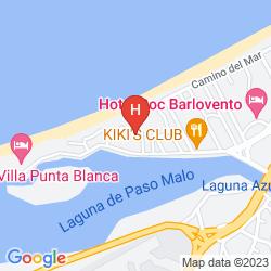 Karte CLUB KAWAMA RESORT