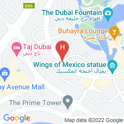 Karte VIDA DOWNTOWN DUBAI