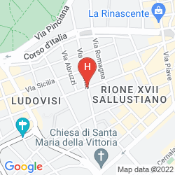 Karte ROMANICO PALACE
