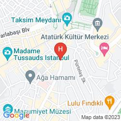 Karte AKKA LUSH HOTEL