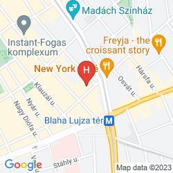 Karte SOHO BOUTIQUE HOTEL