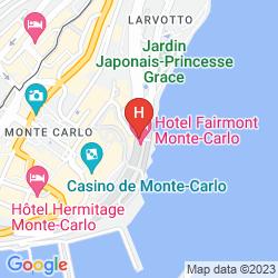 Karte FAIRMONT MONTE CARLO