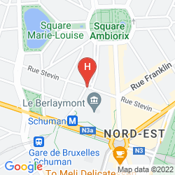 Karte FIRST EUROFLAT HOTEL