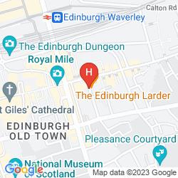 Karte HIGH STREET HOSTEL