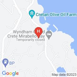 Karte WYNDHAM GRAND CRETE MIRABELLO BAY