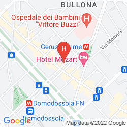 Karte CITYLIFE HOTEL POLIZIANO MILANO