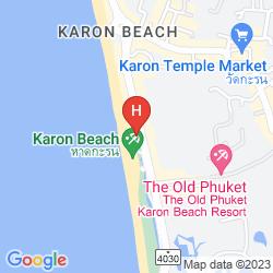Karte MOVENPICK RESORT & SPA KARON BEACH PHUKET