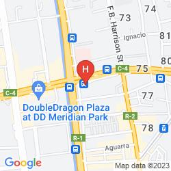 Karte THE HERITAGE HOTEL MANILA
