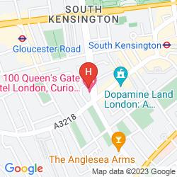 Karte DOUBLETREE BY HILTON LONDON - KENSINGTON