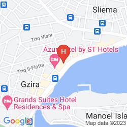 Karte 115 THE STRAND HOTEL & SUITES