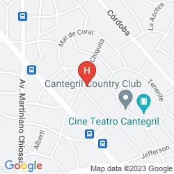Karte BARRADAS PARQUE