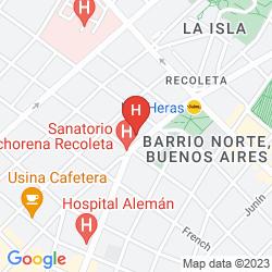 Karte PARK ELEGANCE UNIQUE