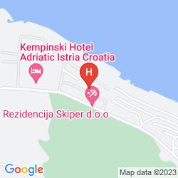 Karte KEMPINSKI ADRIATIC