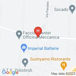 Karte BEST WESTERN PLUS HOTEL EXPO