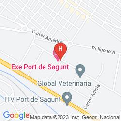 Karte EXE PUERTO DE SAGUNTO