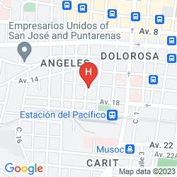 Karte SANTO TOMAS