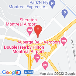Karte ALOFT MONTREAL AIRPORT