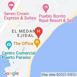 Karte CASA DORADA LOS CABOS RESORT & SPA