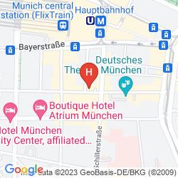 Karte GERMANIA