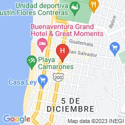 Karte VILLA PREMIERE HOTEL AND SPA