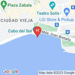 Karte NH Montevideo Columbia