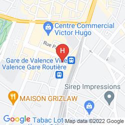 Karte HôTEL VICTORIA