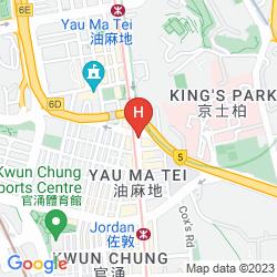 Karte EATON HK