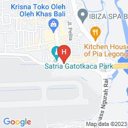 Karte PRIME PLAZA HOTEL SANUR - BALI